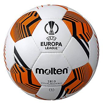 Sula UEFA Europa League 2021/22 Virallinen 2810 Replica Jalkapallo Valkoinen/Musta