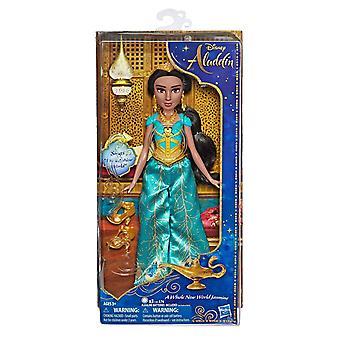 Disney singen Jasmin Puppe mit Outfit und Zubehör