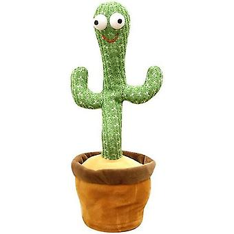 Danser Cactus Shaking Body With Song Electronic Stuffed Animals For Kids Girls And Babies A