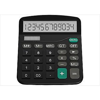 Calculatrice Helect, calculatrice de bureau à fonction standard, calculatrice de bureau Black School