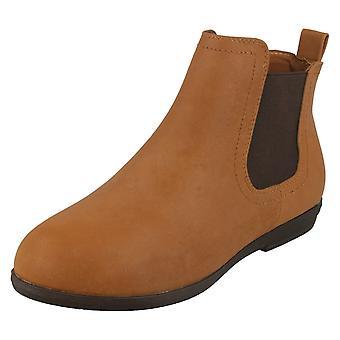 Mancha de senhoras no salto baixo tornozelo botas F50706