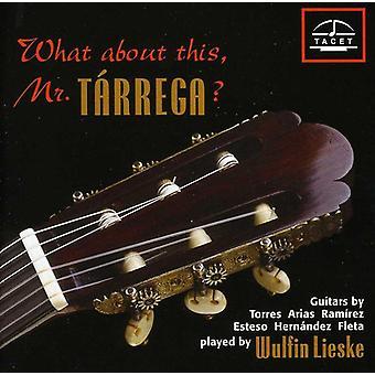 Milan/Bach/Albeniz/Tarrega/Brouwer/Villa-Lobos/Pia - What About This, Mr. T Rrega? [CD] USA import