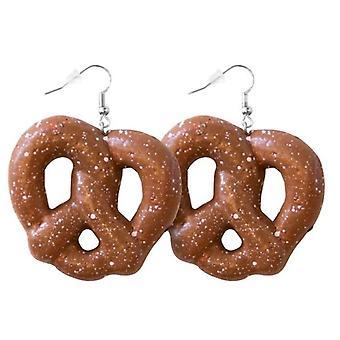 Ohrringe Brezel Oktoberfest Wiesen Deko Resi Ohrring