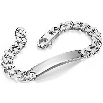 925 серебряные выгравировать название браслет
