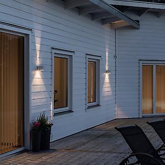ساحة مودينا كونستسميدي LED أعلى أسفل جدار الضوء، أبيض
