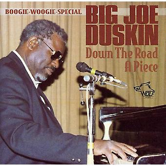 Big Joe Duskin - på vägen en bit [CD] USA import