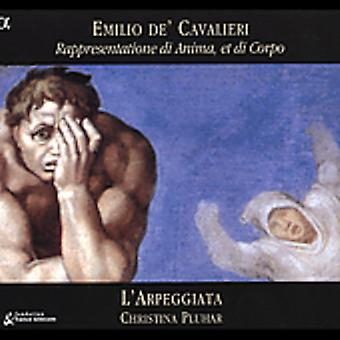 E. De Cavalieri - Cavalieri: Rappresentatione Di Anima, Et Di Corpo [CD] USA import