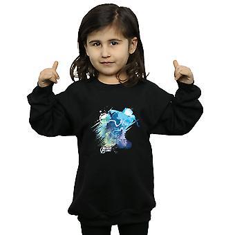 Marvel Girls Thor Art Burst Sweatshirt