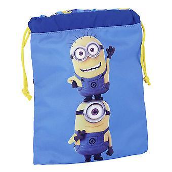 Despicable mi prisluhovači Detské/deti oficiálne šnúrky obed taška