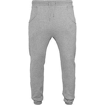 Build Your Brand Mens Heavy Deep Crotch Sweatpants