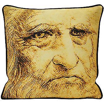 Riva Home Leonardo Self Portrait Cushion Cover