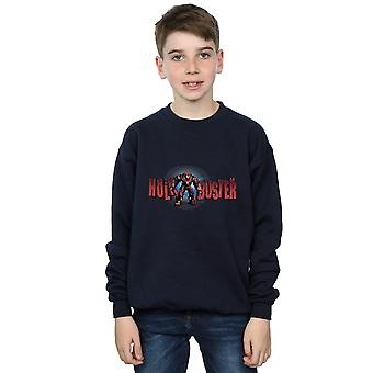 Marvel Boys Avengers Infinity War Hulkbuster 2.0 Sweatshirt