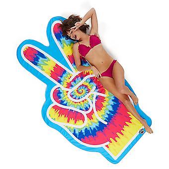 Plaja pânză de pace semn forma prosop plaja pătură pace pace hippie foi ca 196 x 108 cm