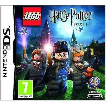 LEGO Harry Potter Years 1-4 (Nintendo DS)-fabriks forseglet