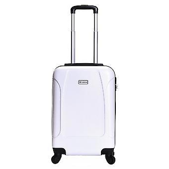 Alameda de Slimbridge 55 cm valise dur, blanc perle