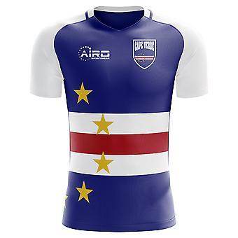 2020-2021 Cape Verde Home Concept Football Shirt