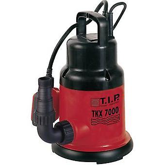 T.I.P. TKX 7000 30267 Bomba sumergible de agua limpia 7000 l/h 6 m
