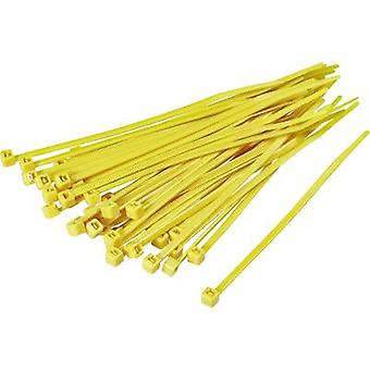 KSS 1369088 CV150 Cable tie 150 mm 3.60 mm Yellow 100 pc(s)
