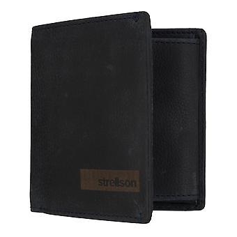 Strellson Goldhawk Billford Q7 mannen portemonnee munt portemonnee portemonnee blauwe 7343