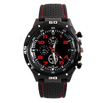 Men Analog Sports GT Watch Black/Red Orange