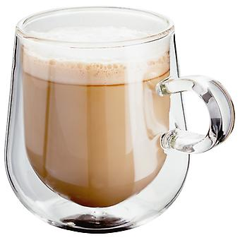 Judge Double Wall, Set Of 2 Latte Glass, 275ml