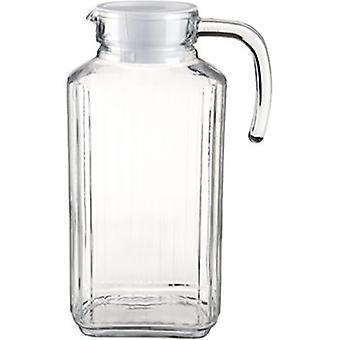 Quadro chladnička džbán 1,7 L tradične štylizovaný s vekom navrhnutý tak, aby sa zmestili väčšinu chladničky dvere
