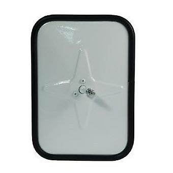 Grote 12101 White Outer Protective Bumper Mirror