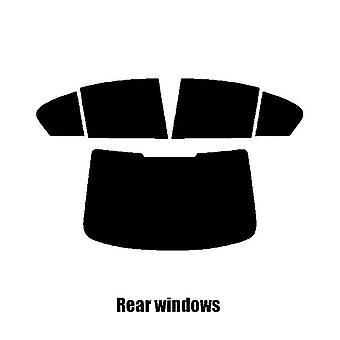 Pre cut ikkunan värisävy - BMW 5-sarja 4-ovinen sedan (G30) - 2017 ja uudempi - takaikkunat