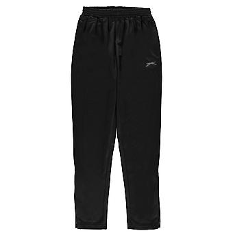 Slazenger Kids Poly Pants Juniors Sports Training Running Tracksuit Bottoms