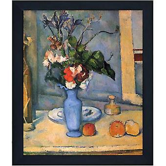 Avec Ram The Blue Vase, Paul Cezanne, 61x51cm
