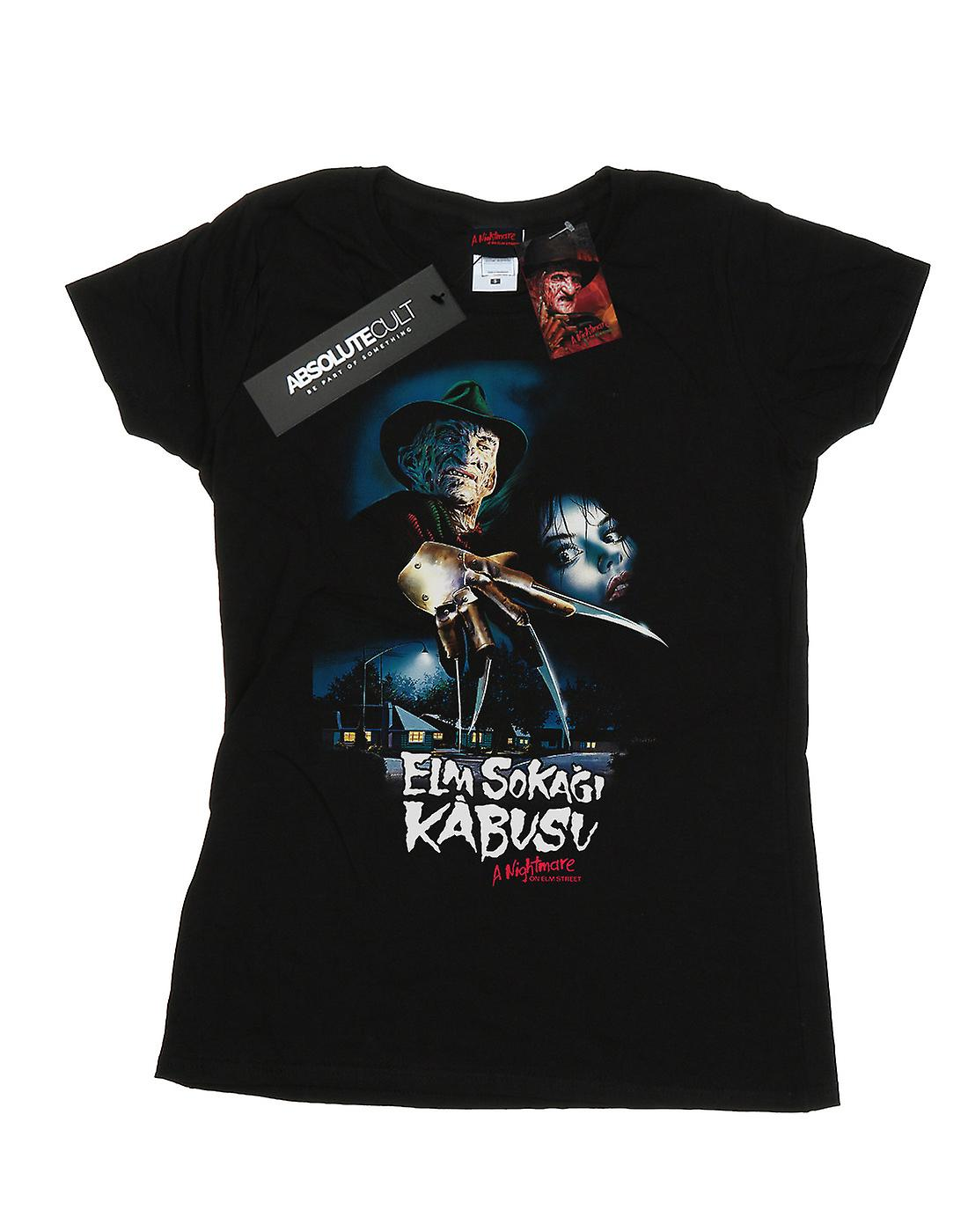 A Nightmare On Elm Street Women's Turkish Movie Poster T-Shirt