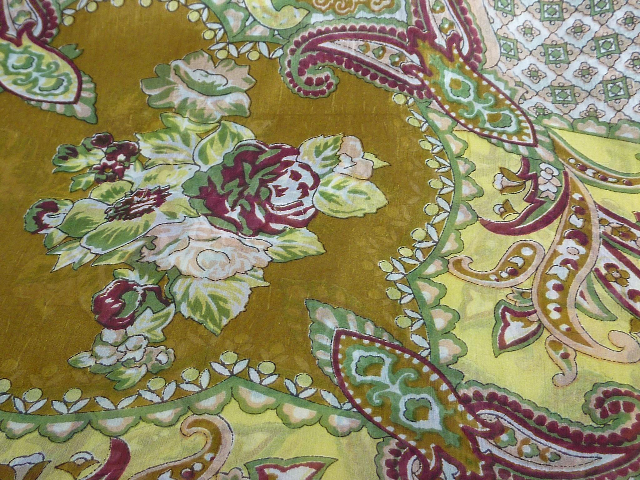 Mulberry Silk Classic Square Scarf Orissa Caramel by Pashmina & Silk