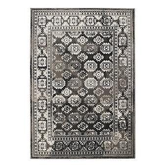 MIZRAHI retângulo cinza tapetes tapetes tradicionais