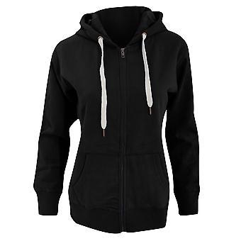 Mantis Womens/Ladies Superstar Zip Hooded Sweatshirt / Hoodie