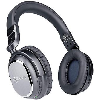 Naztech i9 Active Noise-Cancelling Wireless Bluetooth Headphones - Black