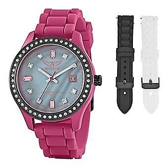 Aviator Damen Multi funktionale Diamante Wrist Watch AVX3666L4