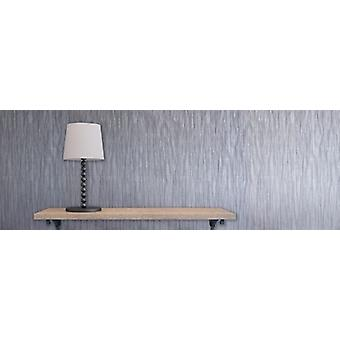Elegant Milano 4 Texture Silver Wallpaper Wall Decoration 10.05m x 0.53m