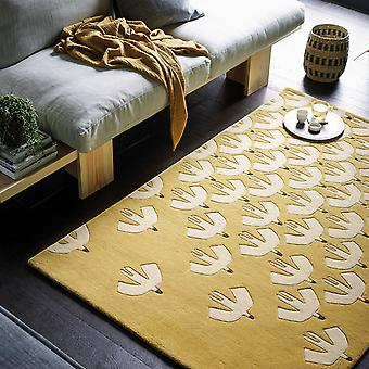 Scion Pajaro alfombras 23906 ocre