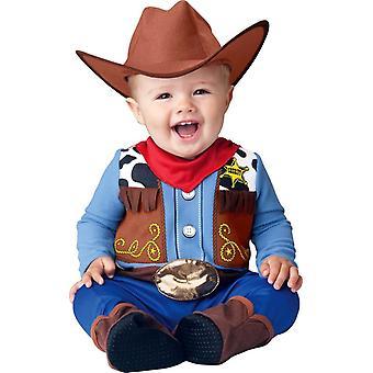 Lille Cowboy barn kostume