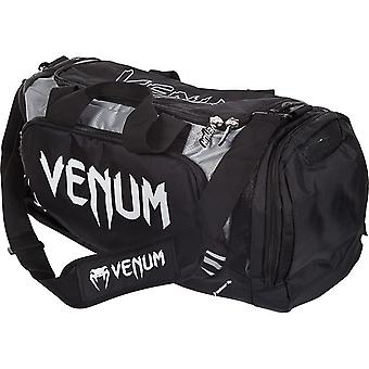 Venum Trainer Lite Sport MMA Boxing Duffle Gym Bag - Black/Gray