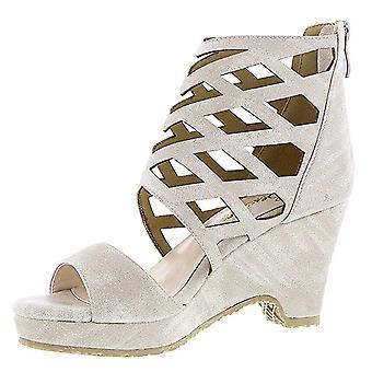 Beacon Womens Skylar Open Toe Casual Platform Sandals