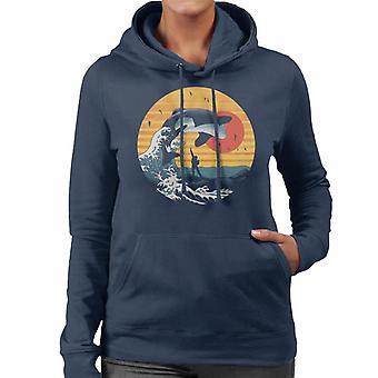 The Great Killer Whale Free Willy Women's Hooded Sweatshirt