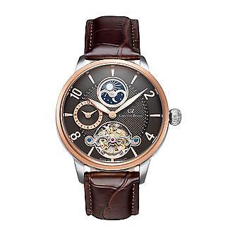 Carl von Zeyten Men's Watch Wristwatch Automatic Calw CVZ0046RBR