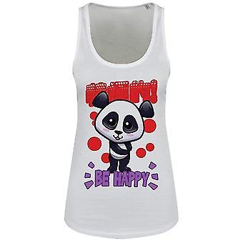 Handa Panda Ladies/Womens Be Happy Floaty Tank
