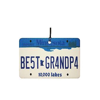 Minnesota - bedste bedstefar licens plade bil luftfriskere