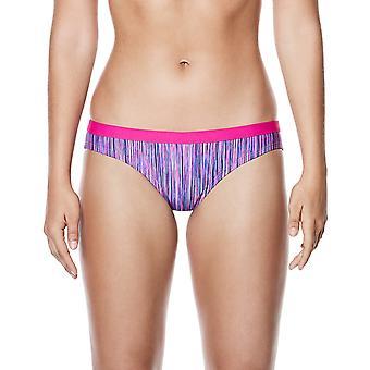 Las mujeres Nike Swim rendimiento Rush Heather Sport Bikini Bottom