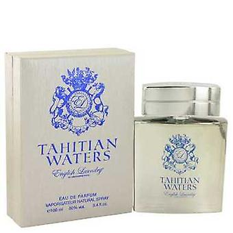 Tahitian Waters By English Laundry Eau De Parfum Spray 3.4 Oz (men) V728-514670