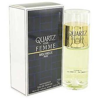 Quartz door Molyneux Eau de parfum spray 3,4 oz (vrouwen) V728-400868