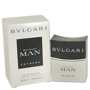 Bvlgari Man Extreme Eau De Toilette Spray By Bvlgari 534738 30 ml