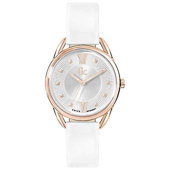 gc- twist Quartz Analog Woman Watch with Cowhide Bracelet Y13002L1